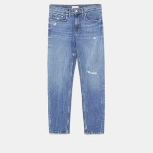 Zara Woman Premium Slim Boyfriend jeans